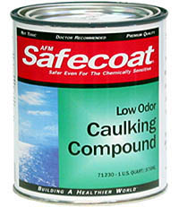 AFM Caulking: Also available in tubes to fit a caulking gun.